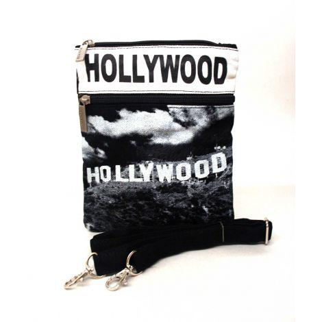 White Hollywood Neck Wallet