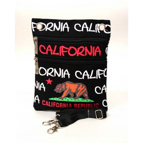 California Republic Neck Wallet