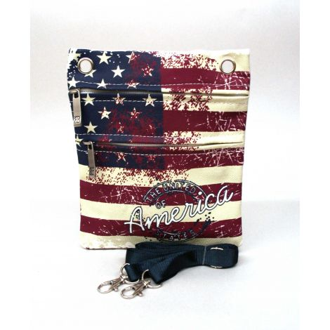 United States Flag Neck Wallet