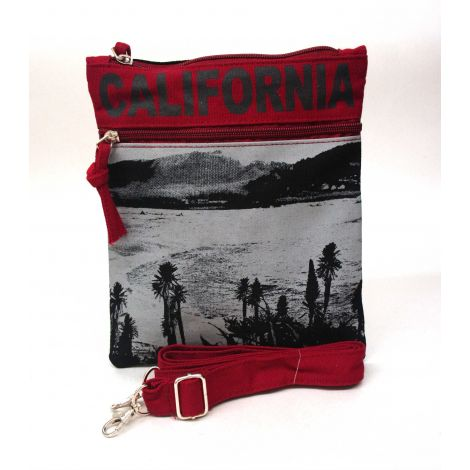 Black California Neck Wallet - Large