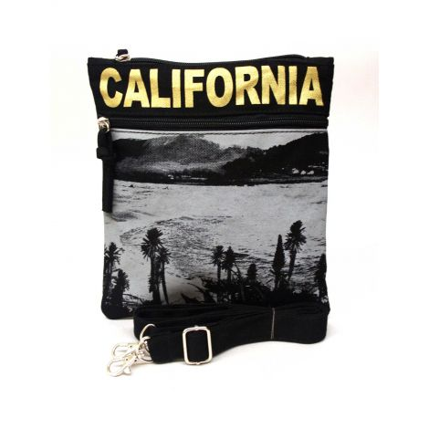 Gold California Neck Wallet - Large