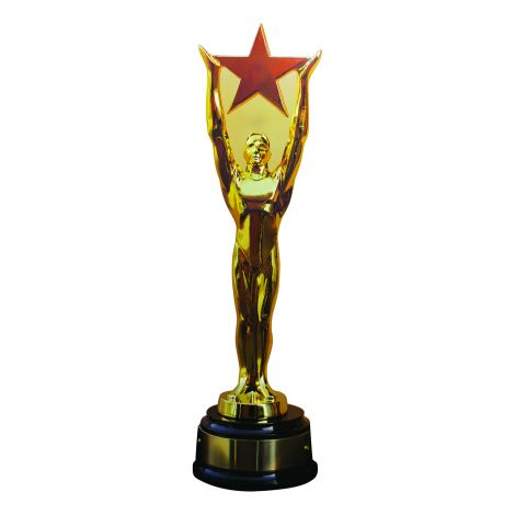 Mega Star Award Trophy Cutout 400