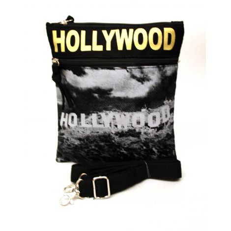 Gold Hollywood Neck Wallet - Large