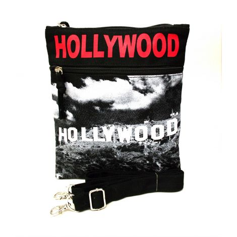 Red Hollywood Neck Wallet - Large