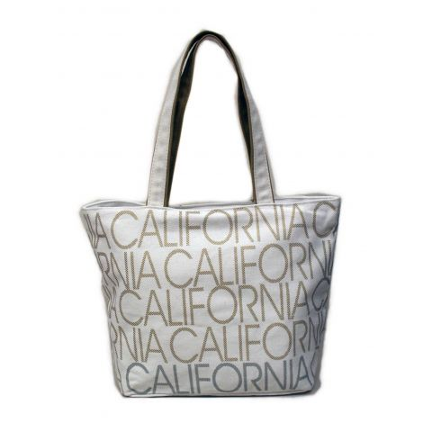 California Canvas Shoulder Bag