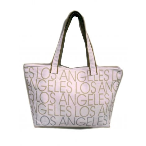 Los Angeles Shoulder Bag - White