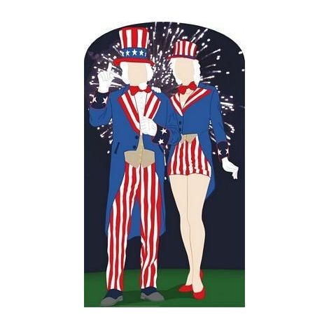Aunt and Uncle Sam #895