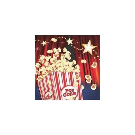 Popcorn Beverage Napkins