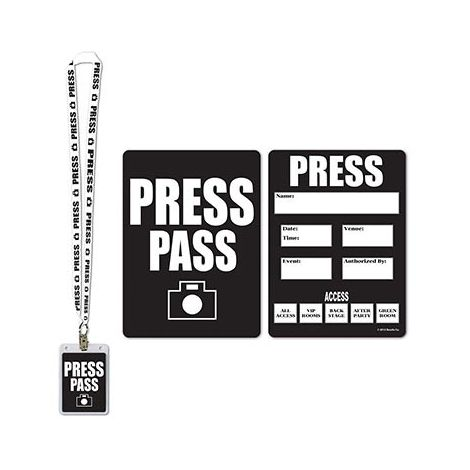 Event Press Pass