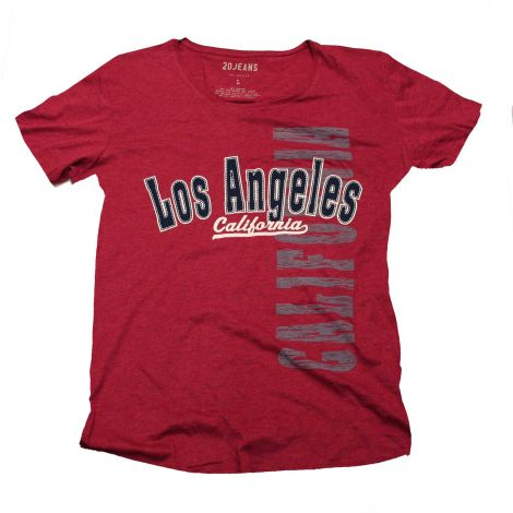 Red Los Angeles Shirt
