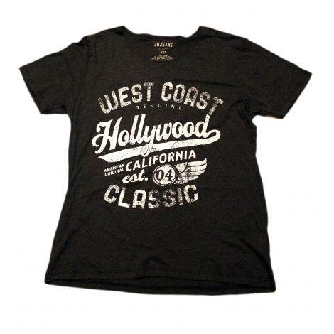 Black Hollywood Shirt