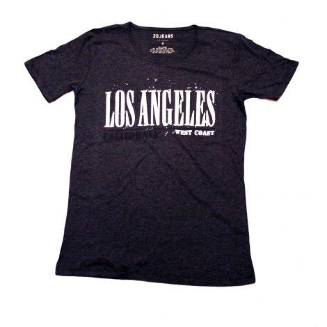 Black Los Angeles Shirt