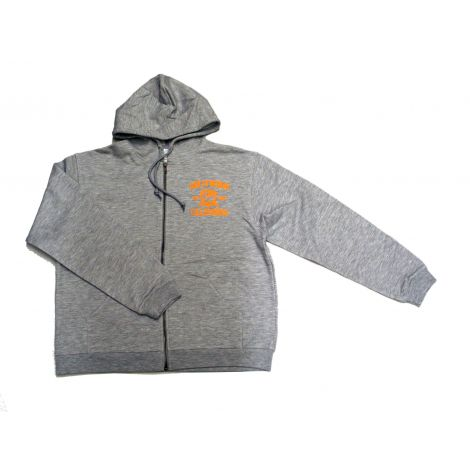 Grey Hollywood CA Hoodie