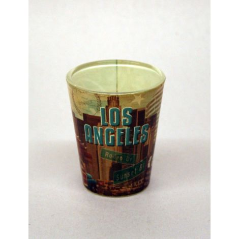 Los Angeles Shotglass