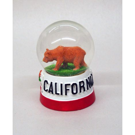 Califorina Republic Snow Globe