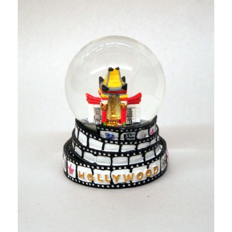 Chinese Theatre Snow Globe