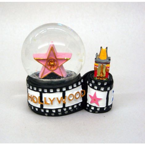Walk of Fame Star Snow Globe