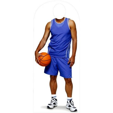 Basketball Stand-In Cutout #924