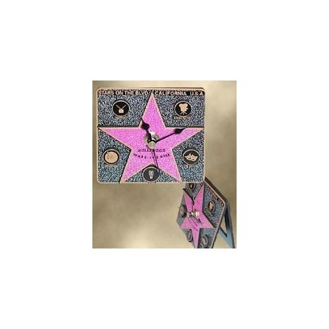 Walk of Fame Star Clock