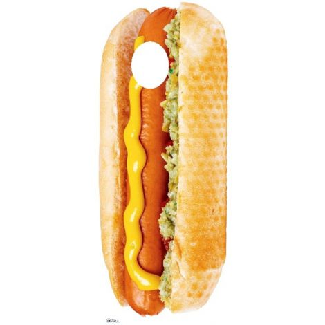 Place Your Face Hot Dog Cutout #847