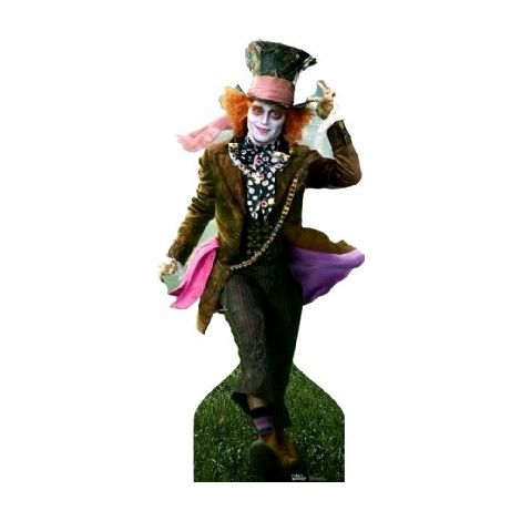 Alice in Wonderland - Mad Hatter - Johnny Depp cutout  131#