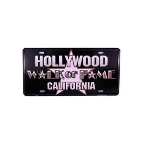 Walk Of Fame Star License Plate