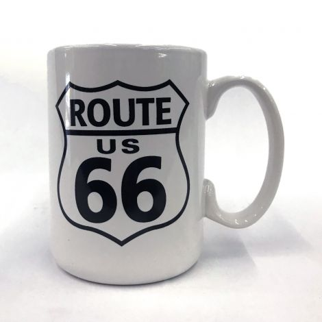 Large Route 66 Mug
