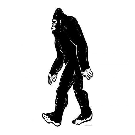 Bigfoot Cardboard Cutout #2522