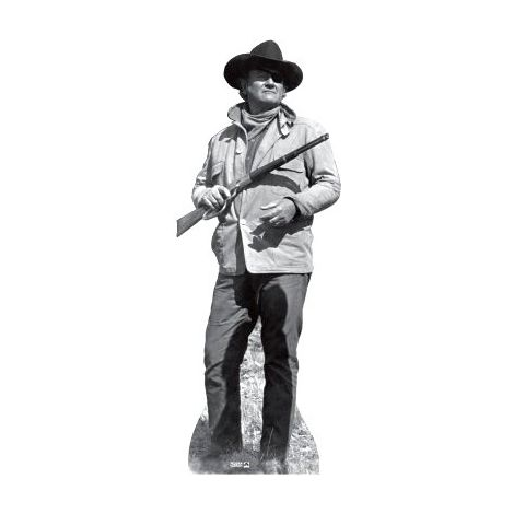 John Wayne  cutout from True Grit#174