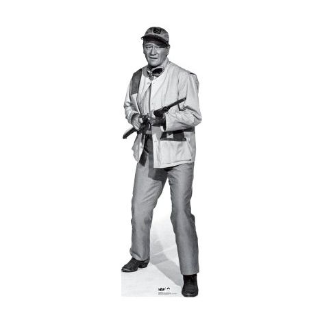 John Wayne from Hatari cutout#175