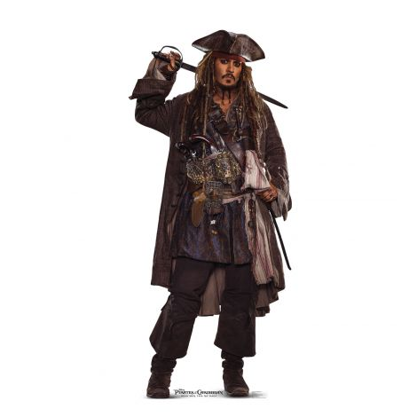 Johnny Depp Jack Sparrow POTC 5 #2279