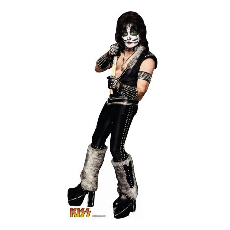 The Catman Peter Criss from KISS cardboard cutout #2458