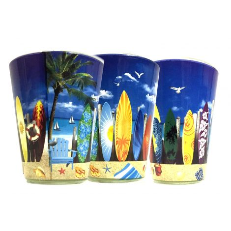 Beach surfboards Shotglass