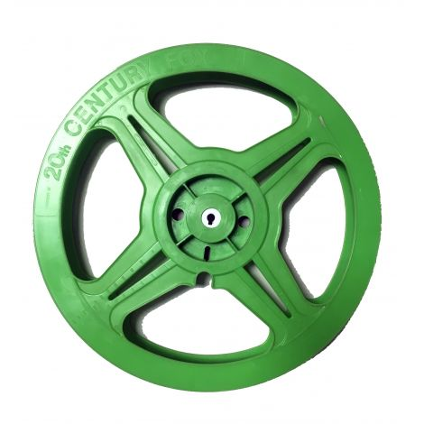 Used Hollywood Green Plastic Reel ( limited quantities )