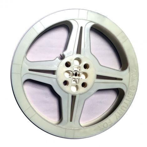 Used Hollywood White Plastic Reel ( limited quantities )