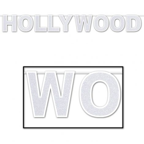 Glittered Hollywood Streamer 8