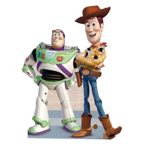 Buzz and Woody cutout #225