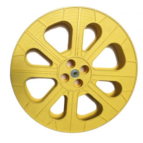 Used Hollywood Yellow Plastic Reel ( limited quantities )