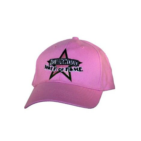 Pink hat Hollywood Walk of Fame