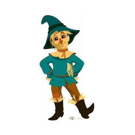 Scarecrow Wizard of OZ Kids Cutout #1076