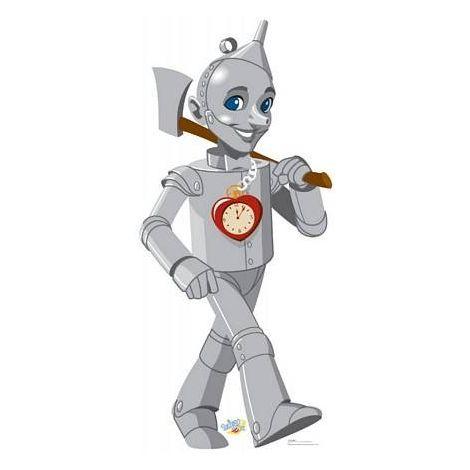Tin Man Wizard of OZ Kids Cutout *1077
