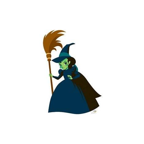 Wicked Witch Wizard of OZ Kids Cutout #1078