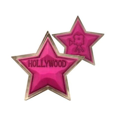 Hollywood Star Sand Paperweight