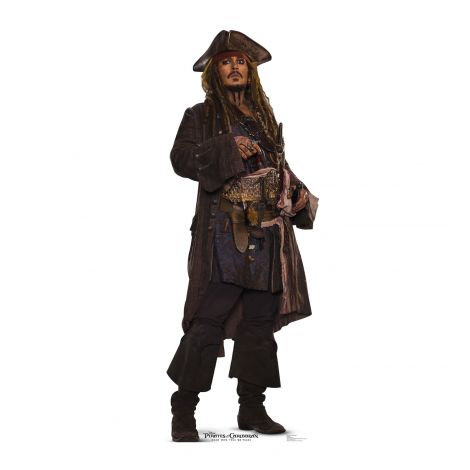 Johnny Depp Jack Sparrow POTC 5 #2278