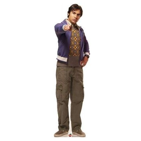Raj Big Bang Theory Cardboard Cutout #1106