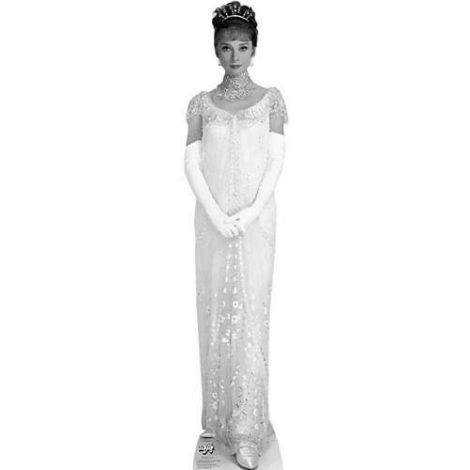 Audrey Hepburn in My Fair Lady Cardboard Cutout #1265