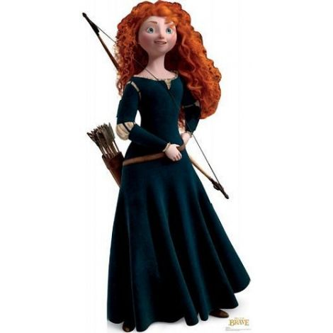 Merida from Disney Pixar Brave Lifesize cardboard Cutout #1206