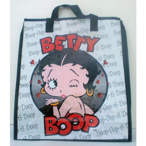 Betty Boop Woven Tote Bag