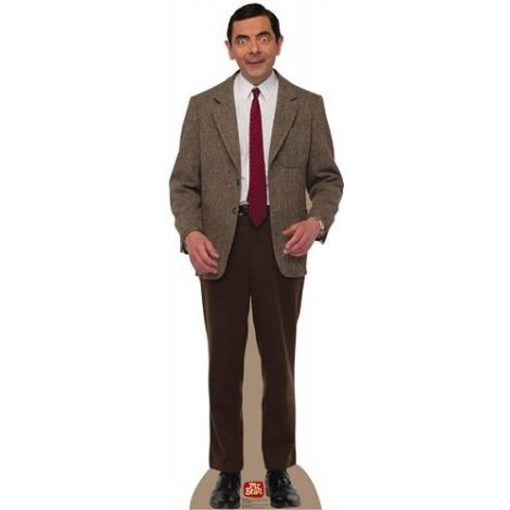 Mr. Bean. Cardboard Cutout #1374