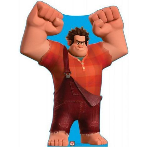 Wreck-It Ralph Lifezise Cardboard Cutout #1391